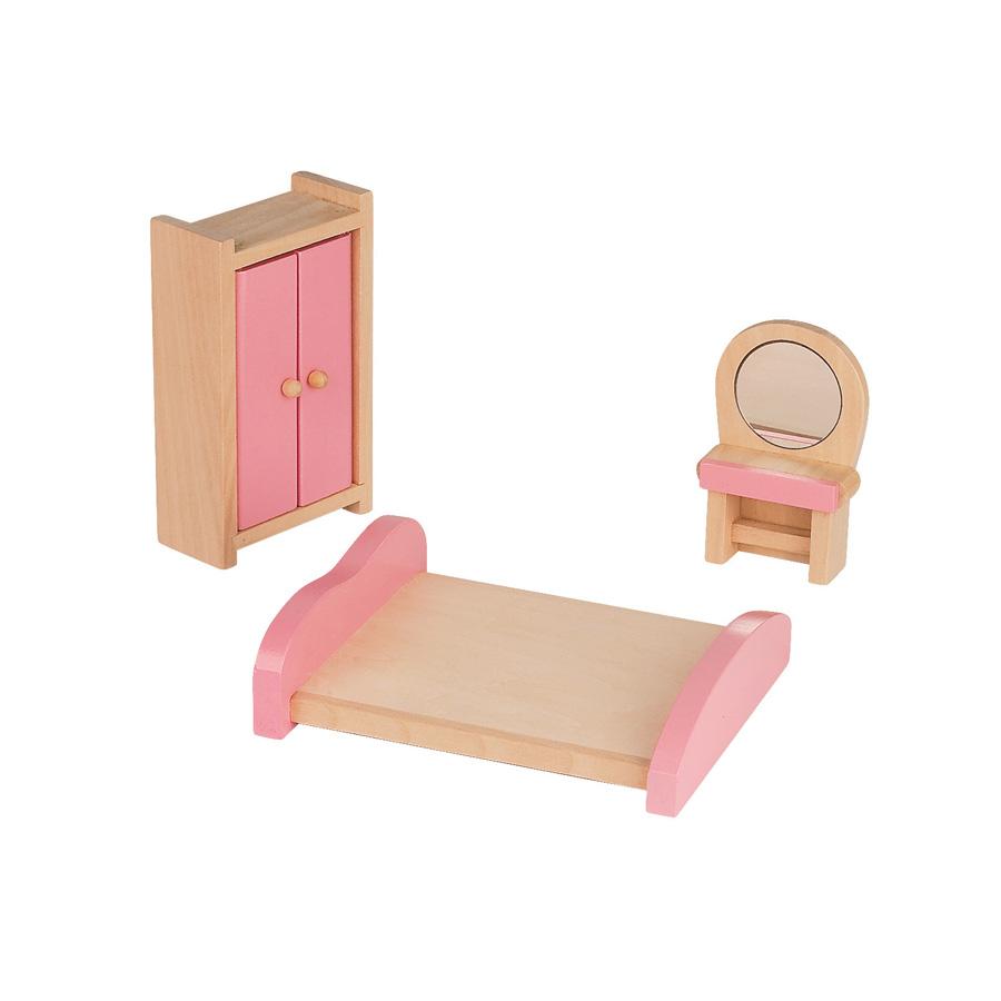 janod puppenhaus mademoiselle mit m bel online kaufen. Black Bedroom Furniture Sets. Home Design Ideas