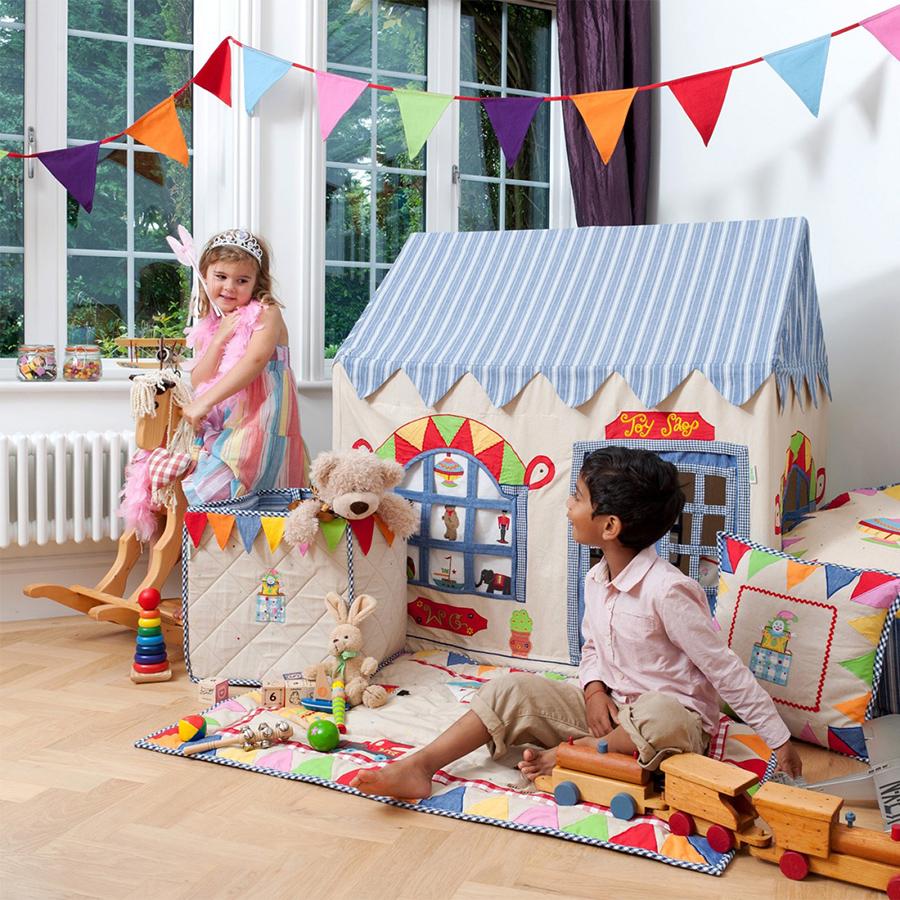 win green spielhaus toy shop klein online kaufen emil. Black Bedroom Furniture Sets. Home Design Ideas