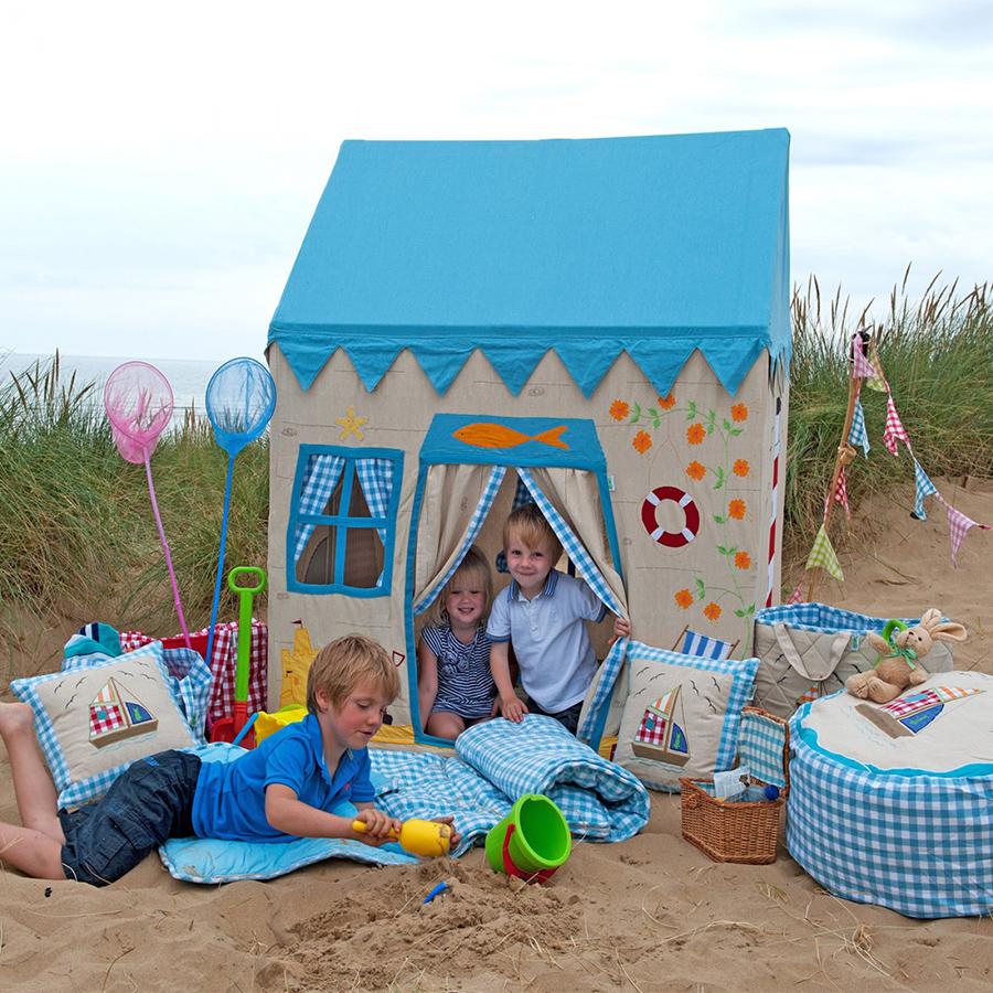win green spielhaus beach house klein online kaufen emil. Black Bedroom Furniture Sets. Home Design Ideas