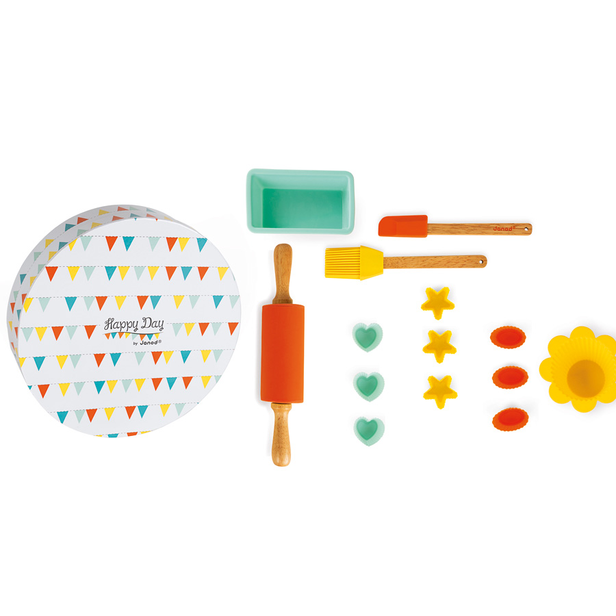 Janod konditor set happy day online kaufen emil for Cuisine janod happy day