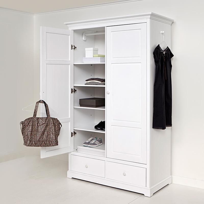 Oliver Furniture 2-türiger Kleiderschrank Weiß Hoch online kaufen ...